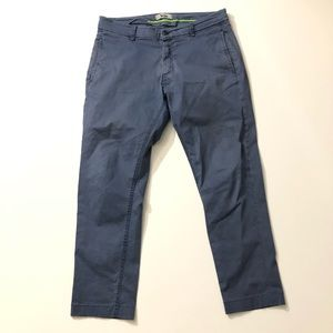Acne Faded Blue Khaki Pants Chinos Size 33 x 34